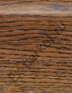 Деревянный плинтус массивный Magestik Floor Дуб Коньяк (прямой, брашированный)