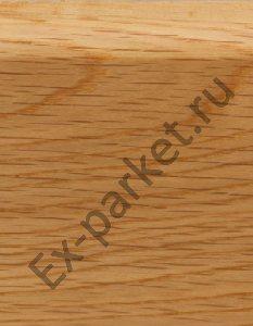 Деревянный плинтус массивный Magestik Floor Дуб Натур (прямой)