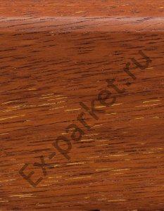 Деревянный плинтус массивный Magestik Floor Мербау Натур (прямой)