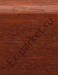 Деревянный плинтус массивный Magestik Floor Мербау (прямой, тонированный)