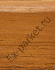 Деревянный плинтус массивный Magestik Floor Тик Индонезийский (прямой)
