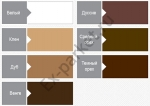 Цветной акриловый герметик GAP FILLER