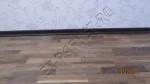 Монтаж или укладка паркетной доски Wood Bee и установка шпонированного плинтуса