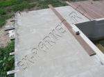 использование террасной доски из ДПК Экодэк вокруг бассейна на бетонную стяжку