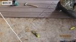 укладка террасной доски на веранду без использования лаг, на ОСБ плиту