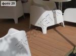 построение летней террасы для кафе с использованием террасной доски