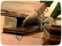 Почему образуются трещины в массивной доске?
