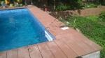 Монтаж, укладка декинга из ДПК вокруг бассейнов и рядом с бассейном