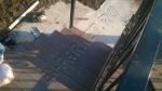Монтаж террасной доски из ДПК Good Cover на лестнице и рядом