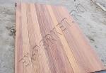 Монтаж уличного бассейна при помощи натуральной террасной доски Magestik Floor древесина Кумару
