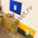 Пробковые настенные самоклеящиеся панели PinWall Ruscork (Рускорк)