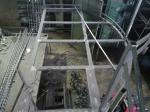 Сварочные работы, каркас для лестницы