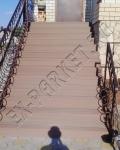 Монтаж лестницы из террасной доски ДПК Good Cover