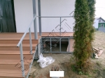 Монтаж и укладка террасной доски из ДПК Good Cover на лестницах и веранде-террасе