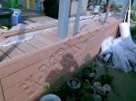 Прочий монтаж террасной доски из ДПК Good Cover на веранду-террасу
