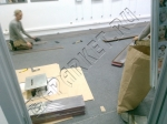 Укладка ламината Ritter Петр 1 и монтаж пластикового плинтуса