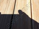 Реставрация террасной доски из лиственницы