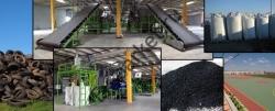 Процесс изготовления резиновой плитки