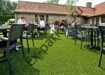 Искусственная трава и газон в интерьере