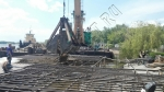 Монтаж террасной доски и ограждений из ДПК на турбазе «Волжино»