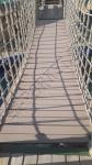 Изготовление подвесного моста из ДПК Good Cover
