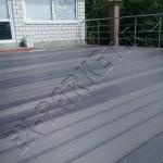 Монтаж террасной доски на веранде (частный дом)