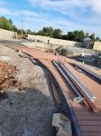 Монтаж террасной доски из ДПК в парк-отеле Новый Век в Энгельсе