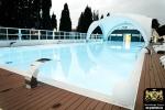 Благоустройство санаторно-курортного комплекса в Сочи Bridge Resort (террасная доска из ДПК Good Cover)