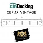 Террасная доска CM Decking серия Vintage