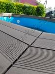 Бассейн после монтажа террасной доски из ДПК Good Cover