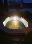 Монтаж террасной доски из ДПК Good Cover Стандарт 140*22*6000мм, цвет коричневый