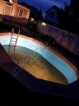 Обустройство частного бассейна из террасной доски Good Cover Стандарт и ступень Good Cover