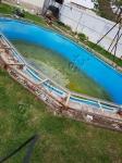 Старый каркас бассейна
